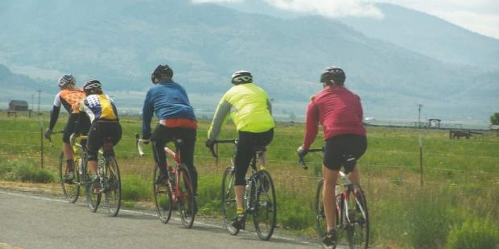 Catch sweeping views of one of the Sierra Nevada's largest high valley's during the ride. – www.tourdemanure.org