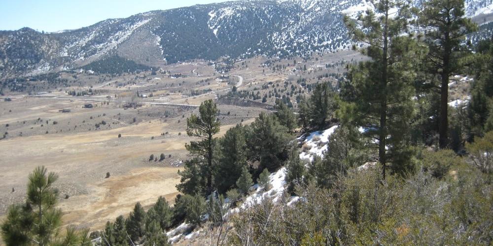 View of Sierra Nevada – ESLT Staff