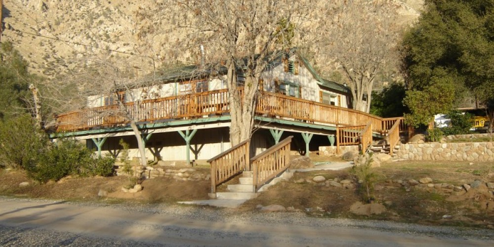 Beneath the Lakehouse in mid winter, a rental with historical background – Carla Thorn