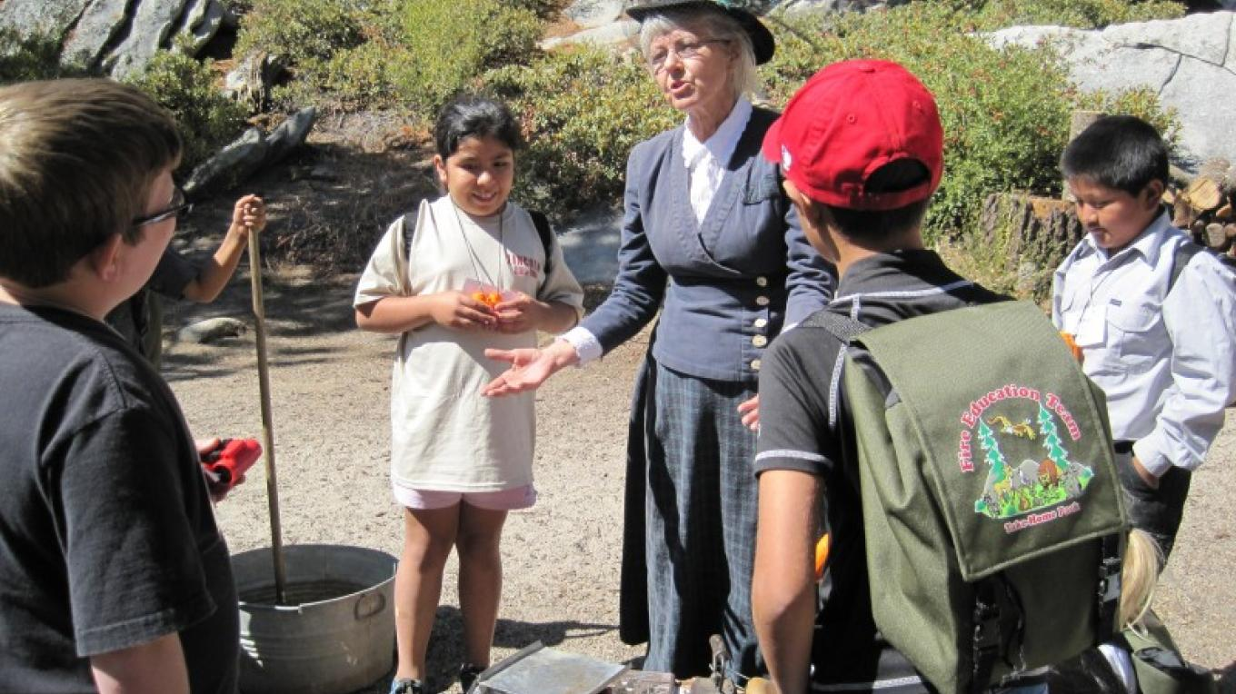 The Buck Rock Foundation sponsors living history and other interpretive programs at Buck Rock Lookout. – Wendy Garton