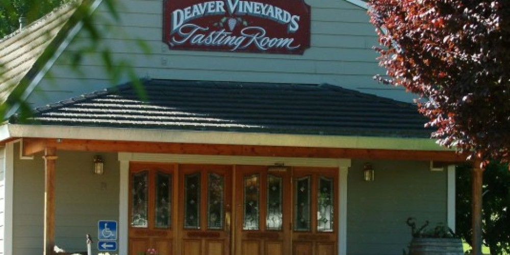 Deaver Vineyards Tasting Room, Amador County CA