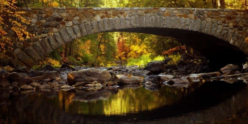 Autumn Pohono Bridge – Charles Phillips