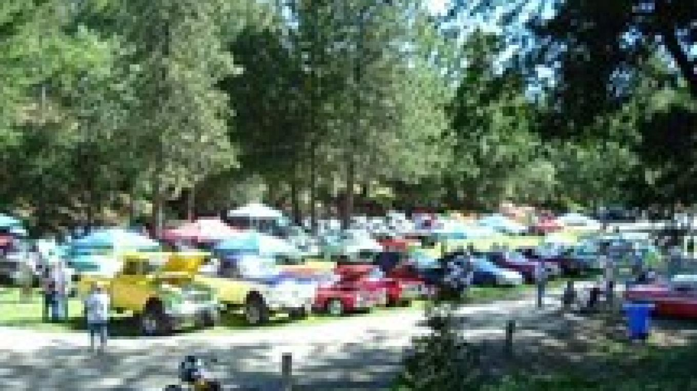 Where the Hell is Groveland Car Show at Mary Lavaroni Community Park