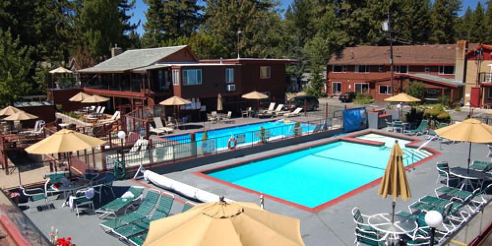 The pool – Ferrari's Crown Resort