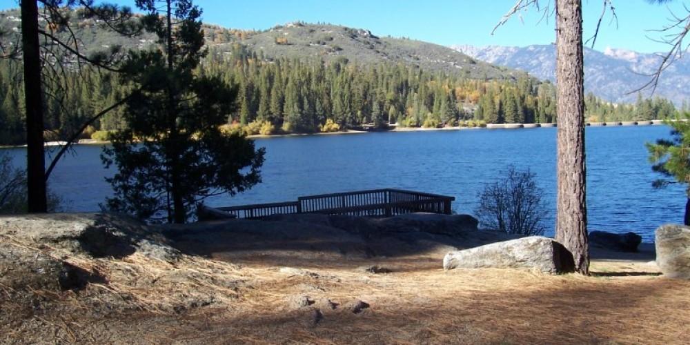 Hume lake 3 miles from Princess