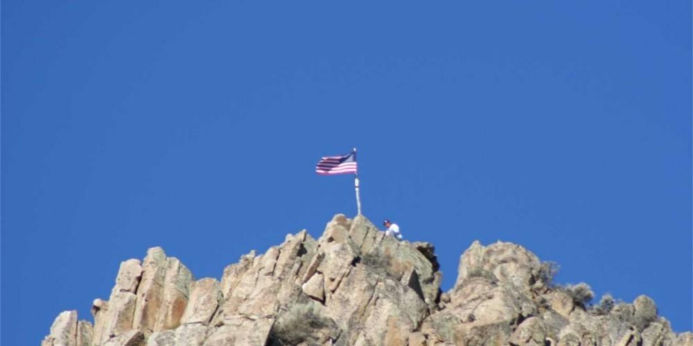 Flag raising – tim
