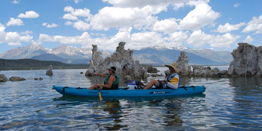 Kayaking on Mono Lake – Sarah McCahill