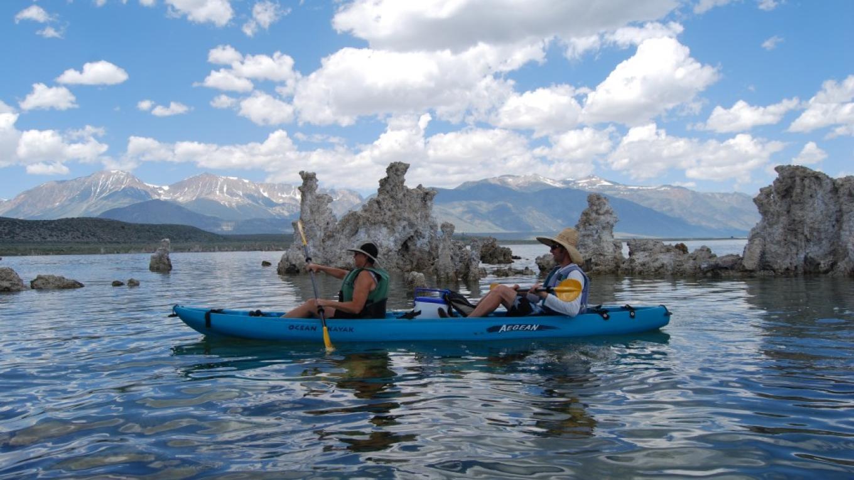 Kayaking on Mono Lake – Sarah McCahill