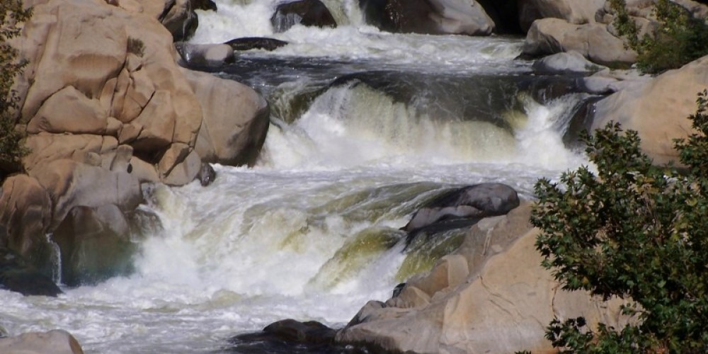 One of the rapids on the Lower Kern. – Frank Brassell