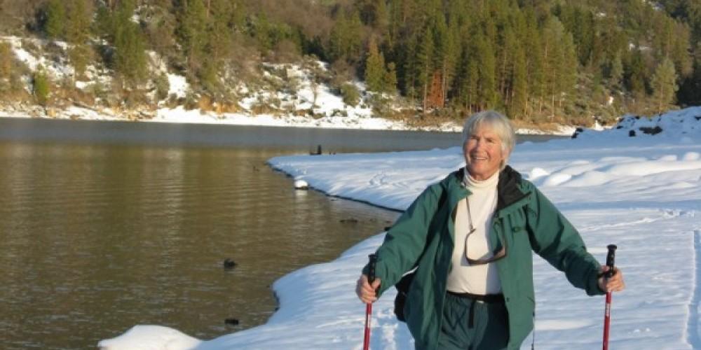 Bass Lake Skier – Joanne Freemire