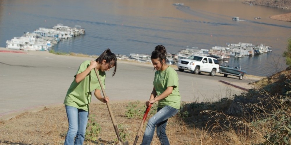 Volunteers at work – provided by U.S. Army Corps of Engineers