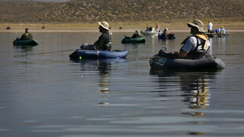 Opening Day of Fishing Season on Crowley Lake – Rick E. Martin