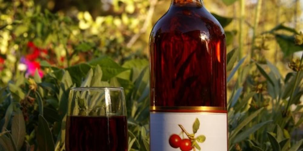 Wild Plum wine – Lorissa Soriano