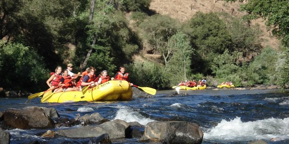 Rafting on Mokelumne River Electra Run – Katherine Evatt