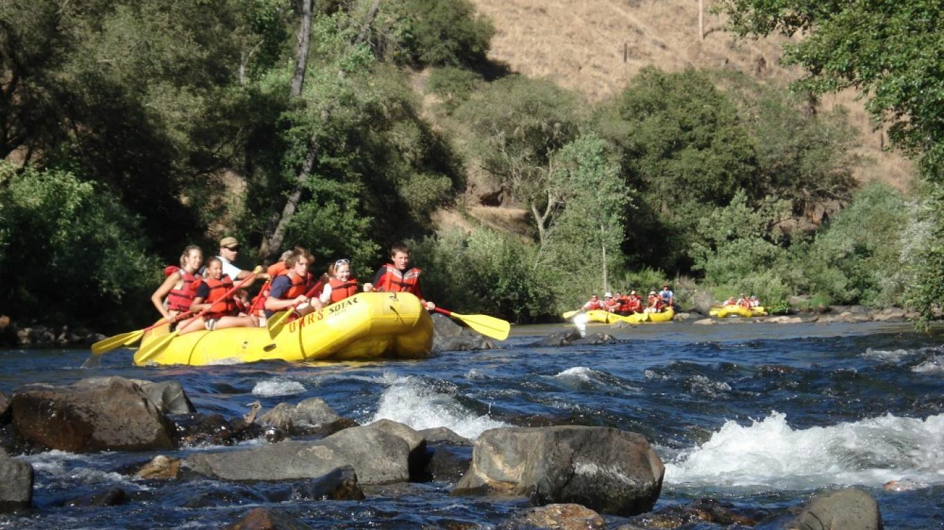 Rafting on Mokelumne River Electra Run – Katherine Evatt