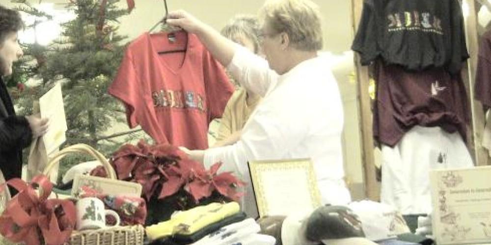 Christmas Fair Chamber Booth – Jim Brown