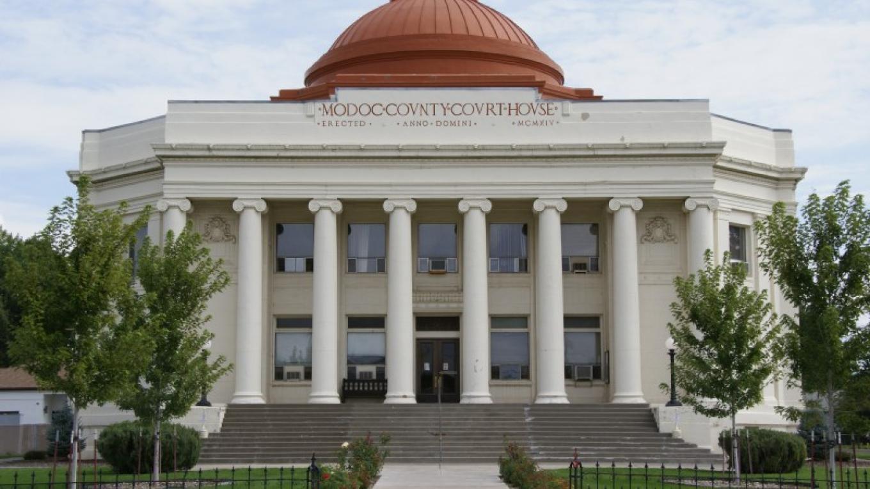 20. Modoc County Courthouse – Lorissa Soriano