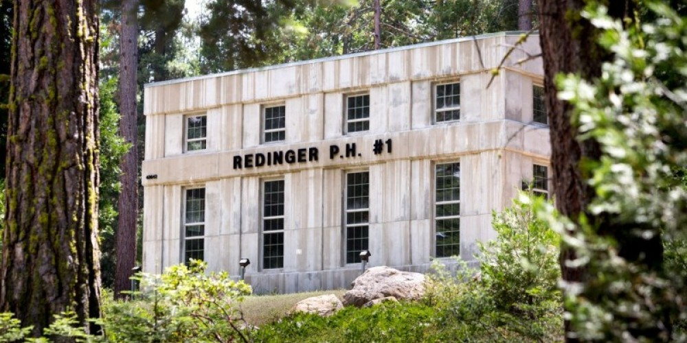 Redinger Powerhouse - we are the only museum in the world to exhibit a fully functioning hydroelectric powerhouse.