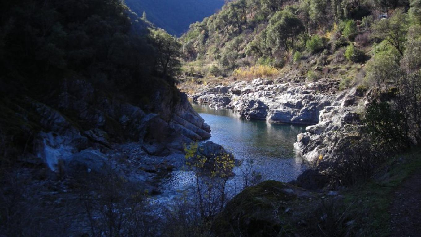 North Fork American River near Secret Ravine confluence, a view from the Colfax side of the Stevens Trail – Jay Shuttleworth