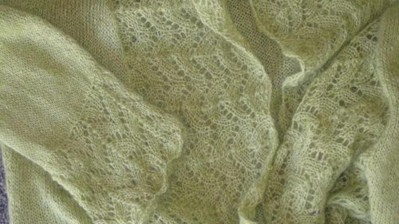 Kidlinlace Cardigan in Louet Kidlin yarn – Jana Botkin