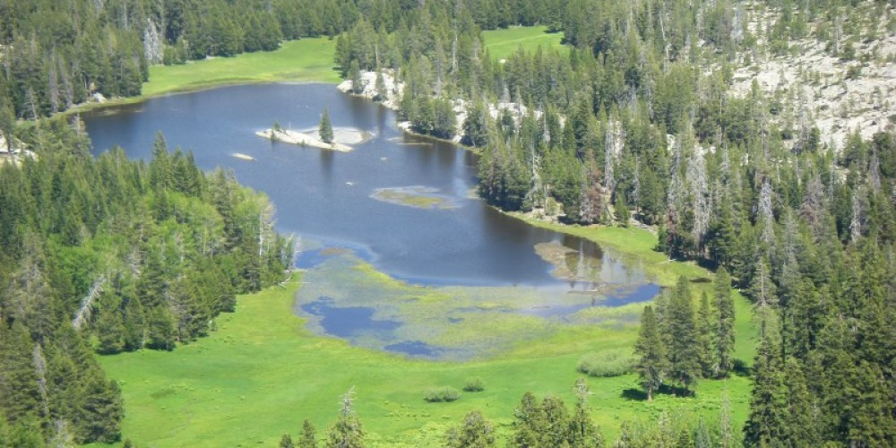 Duck Lake as seen from Inspiration Point. – Mike Needs