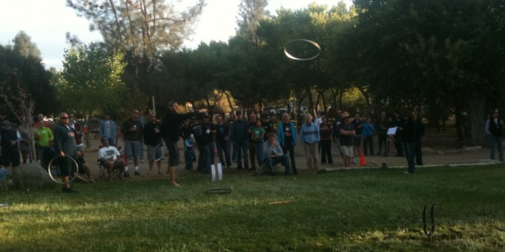 Rim toss. – Mountain & River Adventures