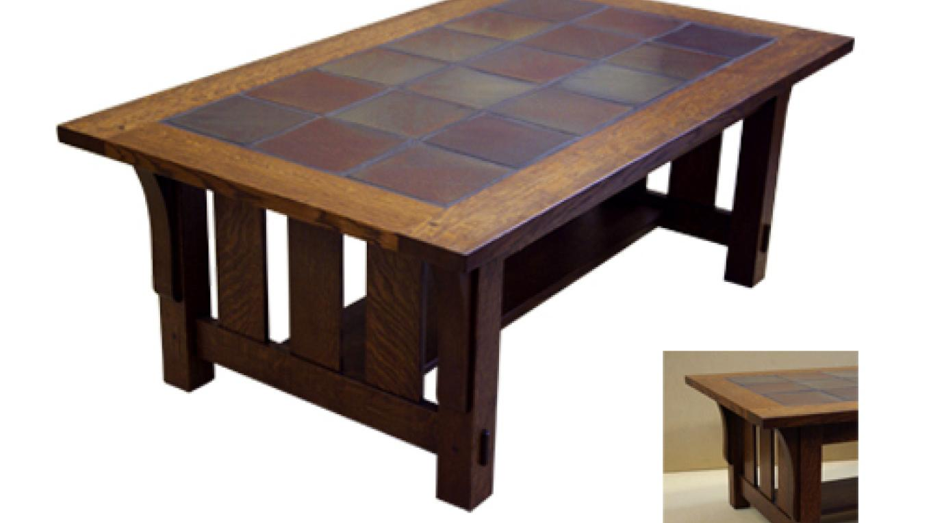 Tile Top Coffee Table – martha widmann