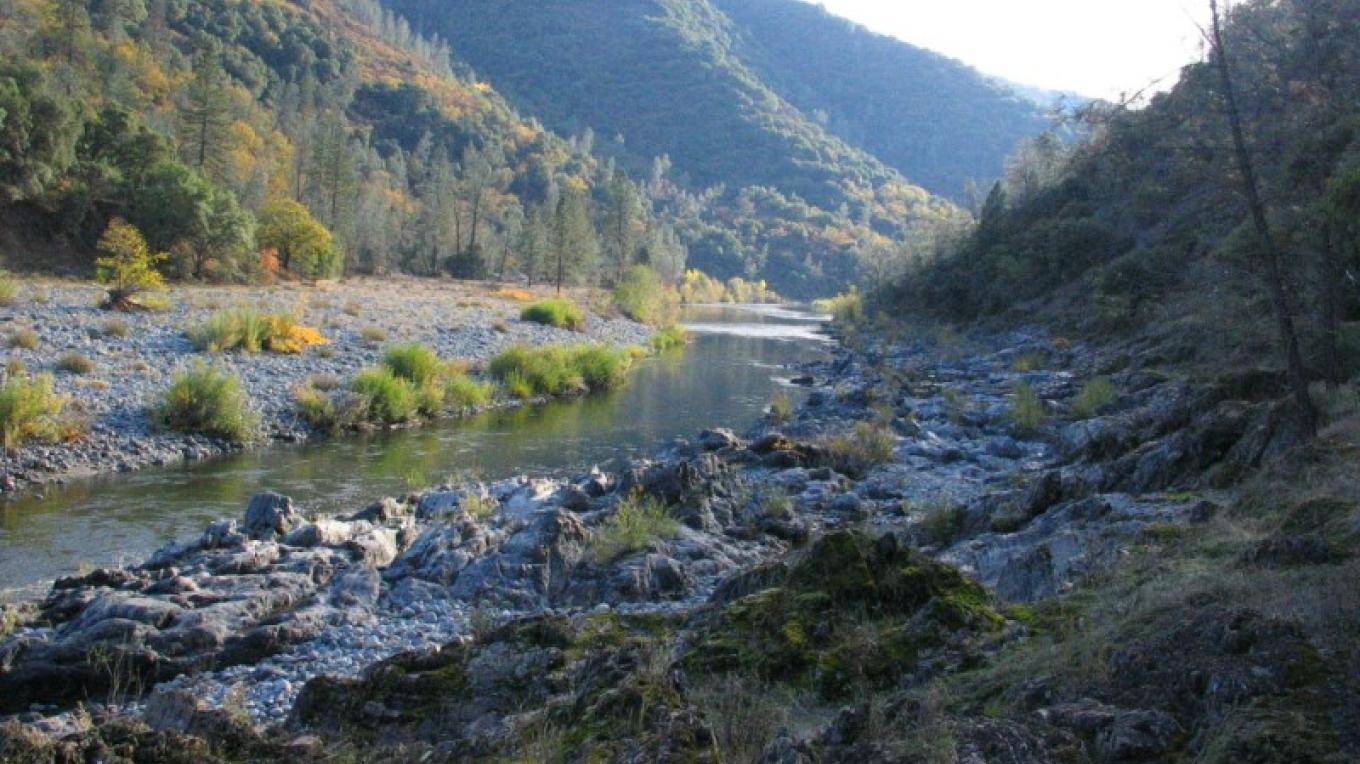 Along the north fork of the American River. – Placer Land Trust staff