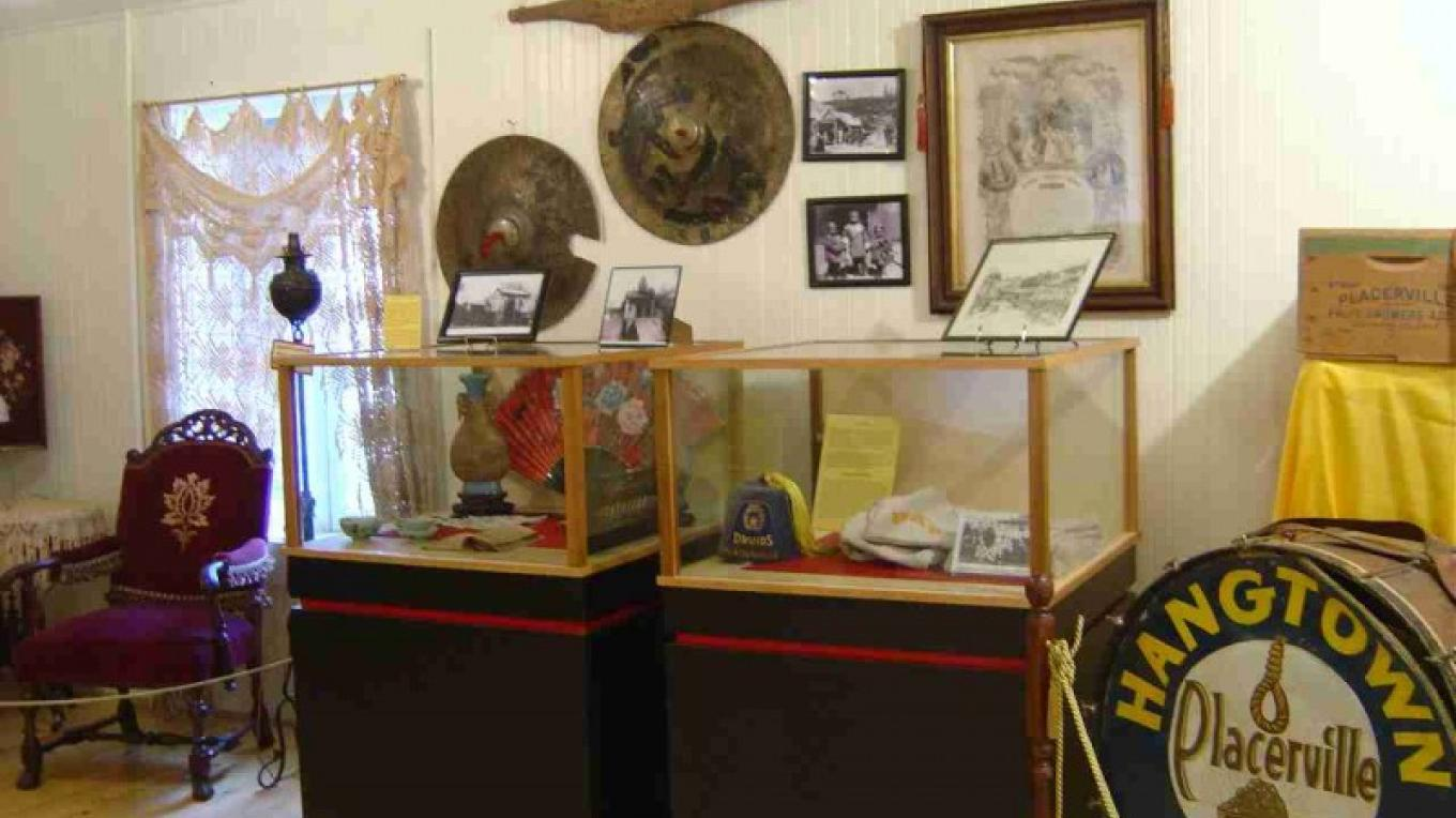 Artifacts from early Placerville businesses