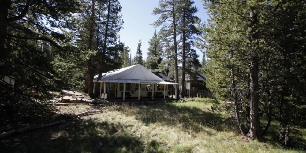 Tuolumne Meadows Lodge Front Desk & Dining Tent