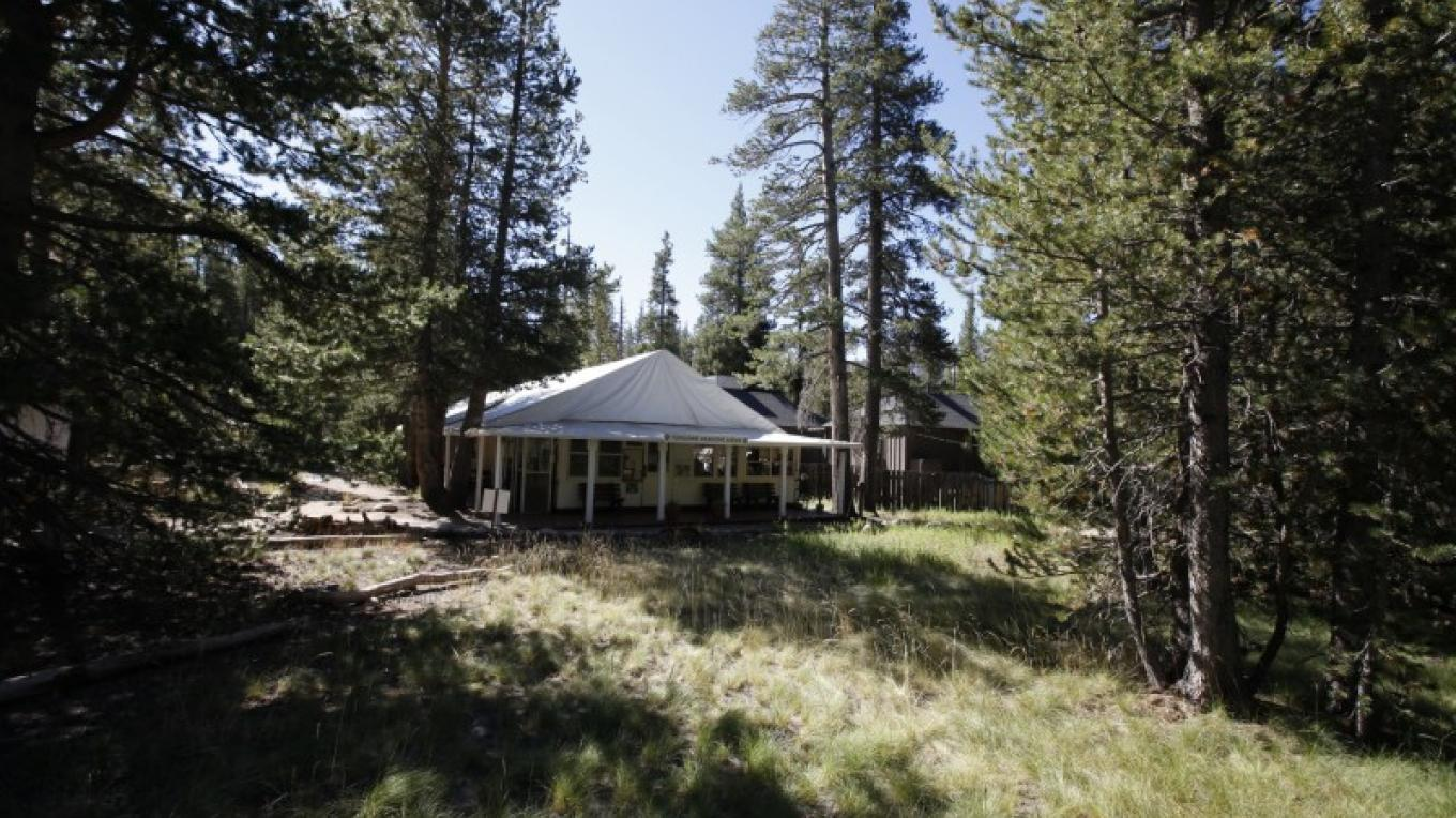 Tuolumne Meadows Lodge Front Desk & Dining Tent