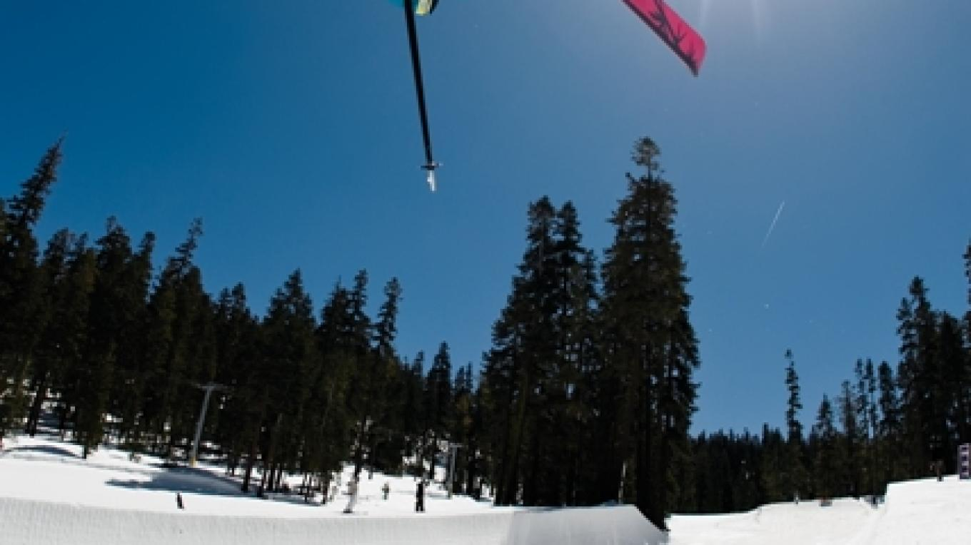 South Shore's Only Superpipe is at Sierra Resort – Tim Peare