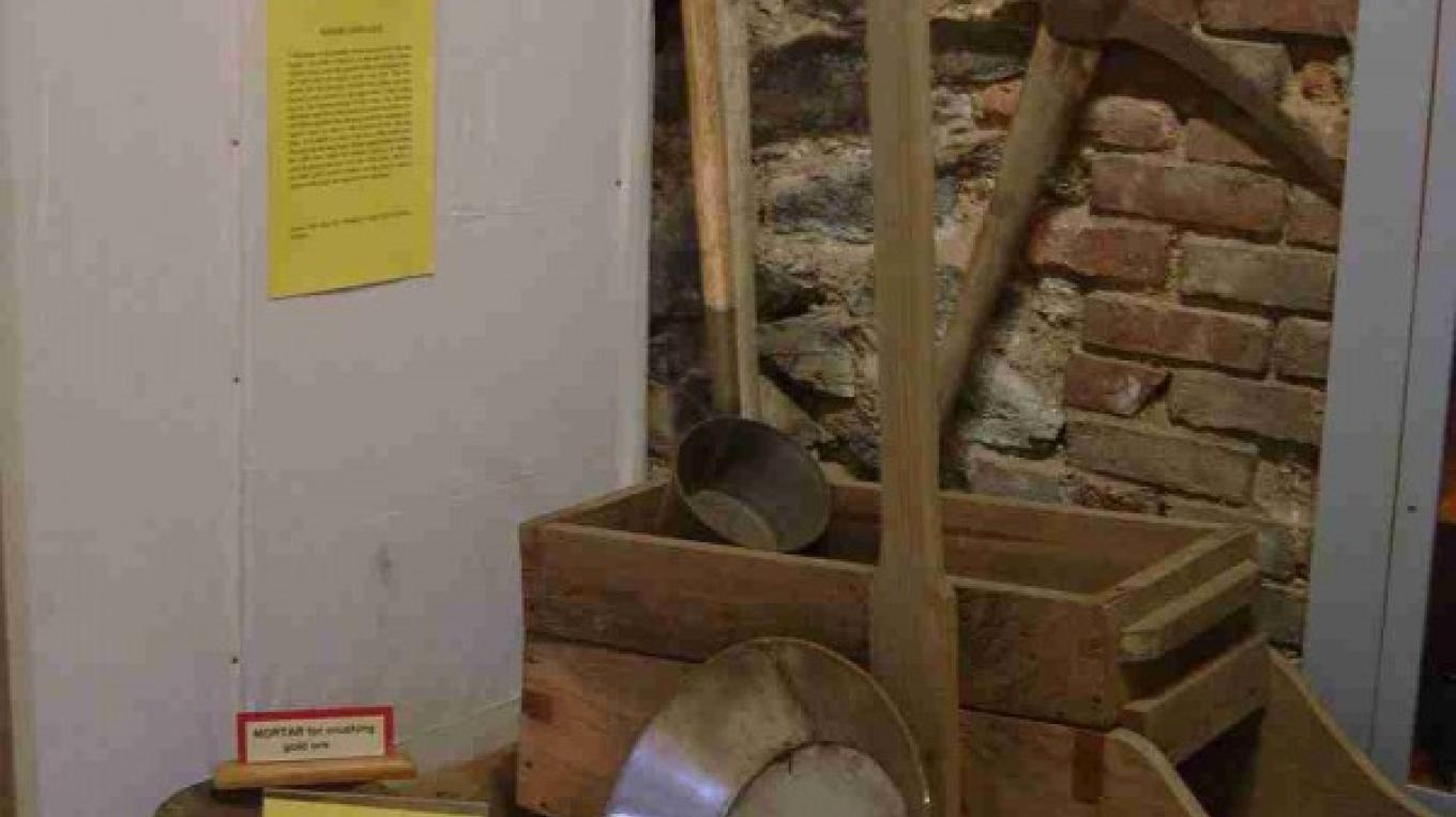 Tools used by miners during the Gold Rush