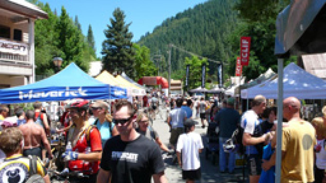 Festival Panorama- Downieville