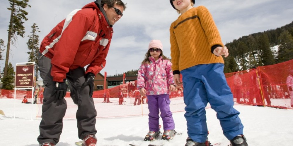 Children can learn to ski or snowboard at Sierra Resort and can also learn about the history of the Sierra Nevada mountains in four Adventure Zones around the resort. – Tom Zikas