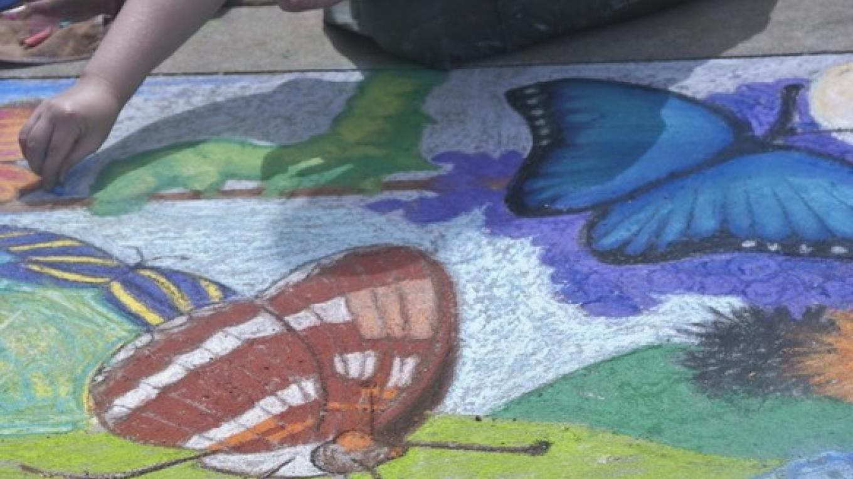 Chalk Art in the Park – Charles Phillips
