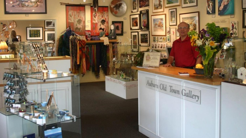 Auburn Old Town Gallery interior