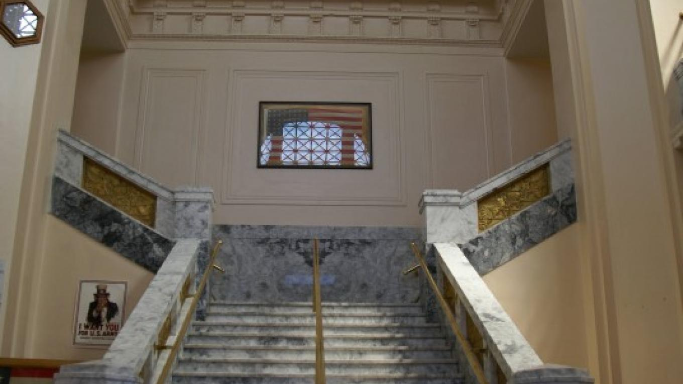 Courthouse marble staircase. – Lorissa Soriano
