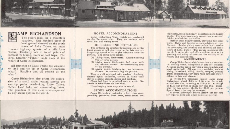 Old brochure 1940's