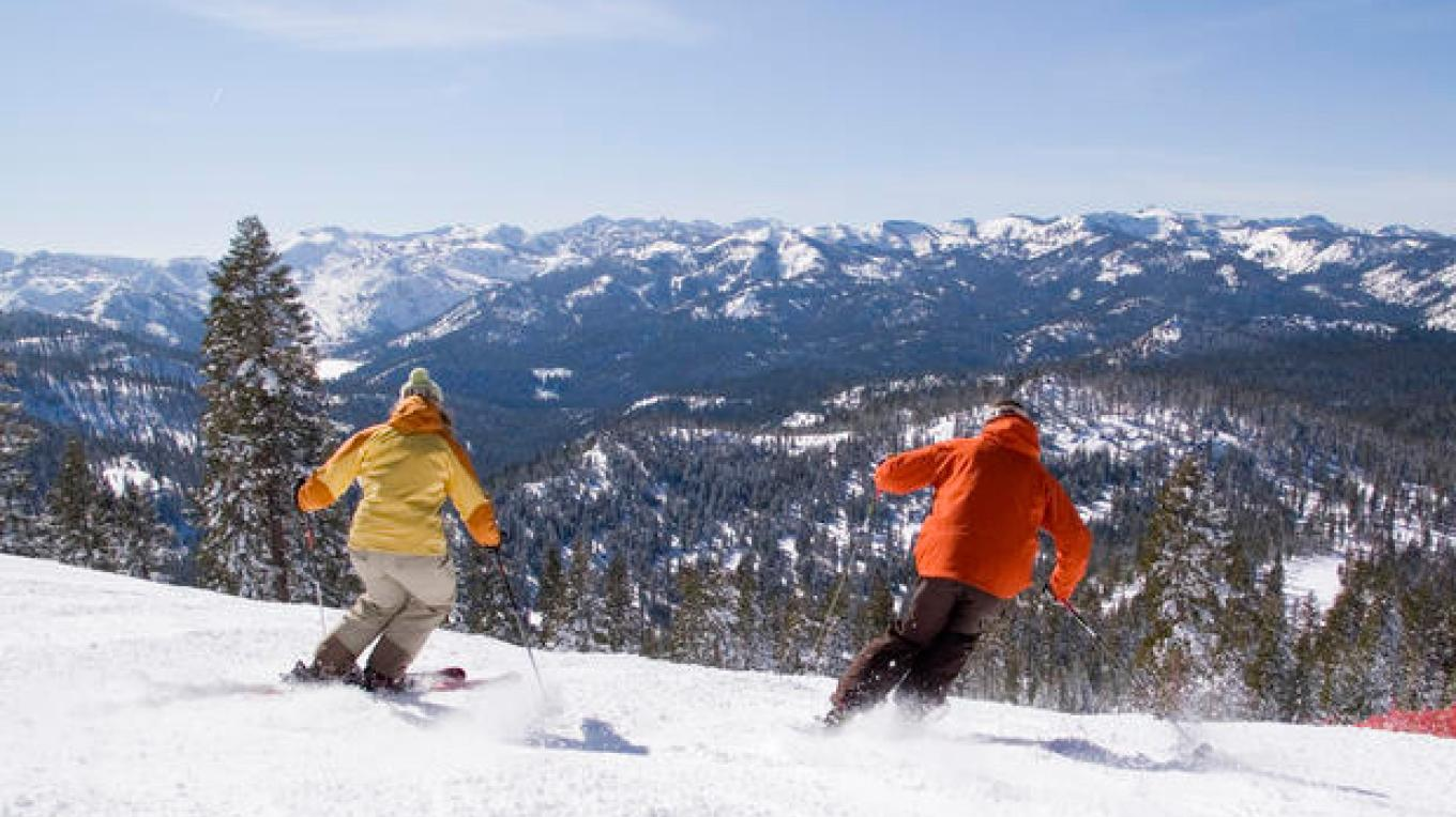 Skiing at Northstar Resort – Stevenson