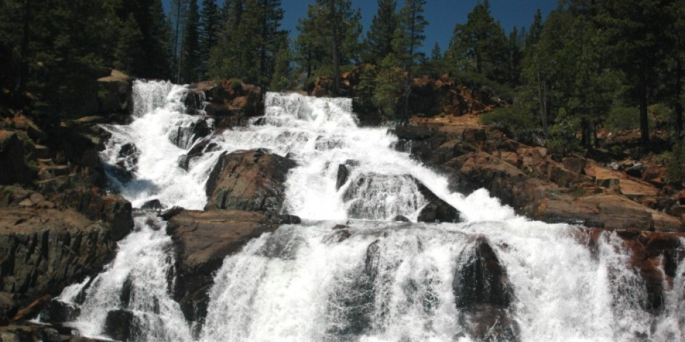 The Falls at Spring Melt – Tim Rains