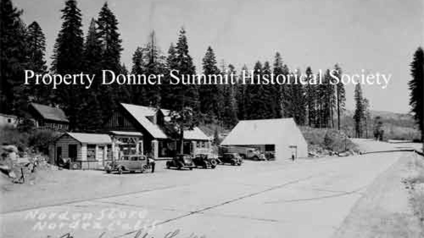 Norden Store, Donner Summit