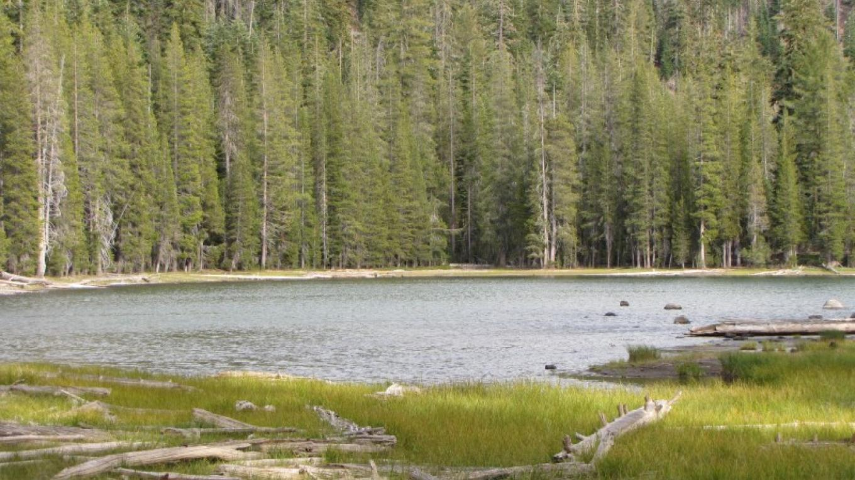 Swan Lake along the PCT in Lassen. – Ben Miles