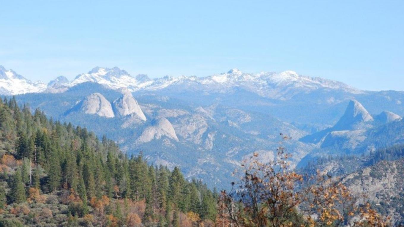 Looking towards Mt. Banner and Mr. Ritter – Jimmie Smothers, SJRTC