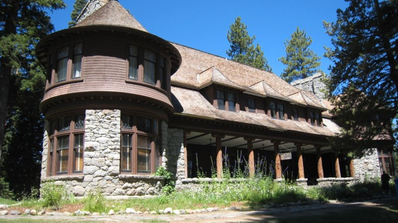 Pine Lodge, front view – Susan Grove