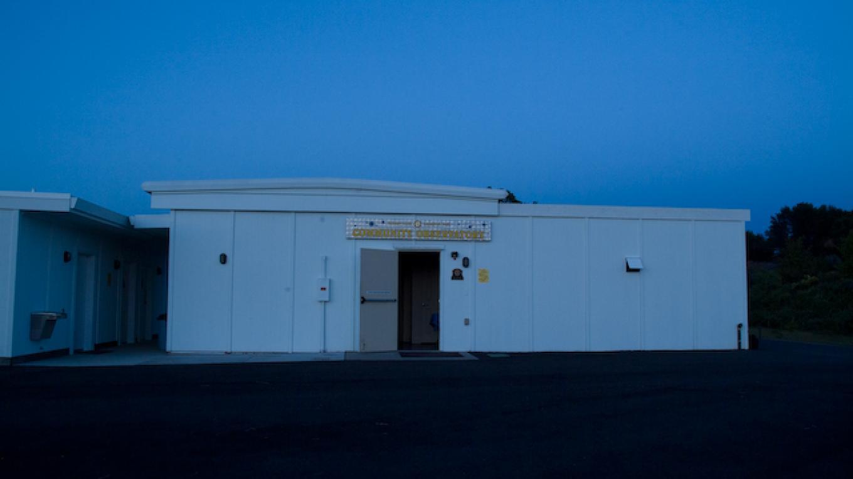 Observatory at dusk. – Adale van Dam