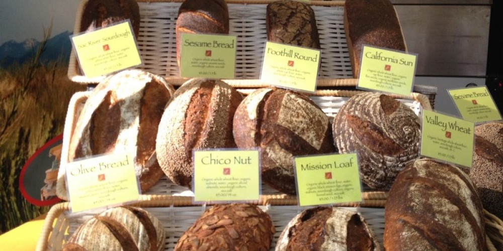 Fresh, locally baked breads are the hit at Paradise Farmers' Market. – www.chicofarmersmarket.com