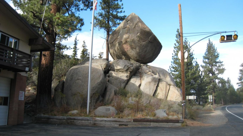Balanced Rock and June Lake Fire Station
