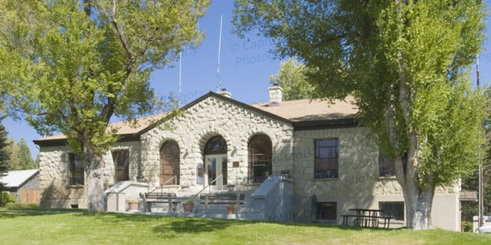 The Alpine County Courthouse was constructed in 1928 and is still in use today. – www.capitolshots.com