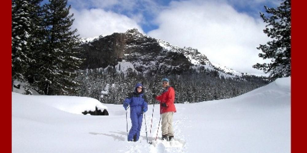 Winter at Kit Carson Lodge